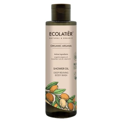 Ekologisk duscholja med arganolja från Ecolatiér