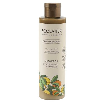 Velvety Shower Oil med marula