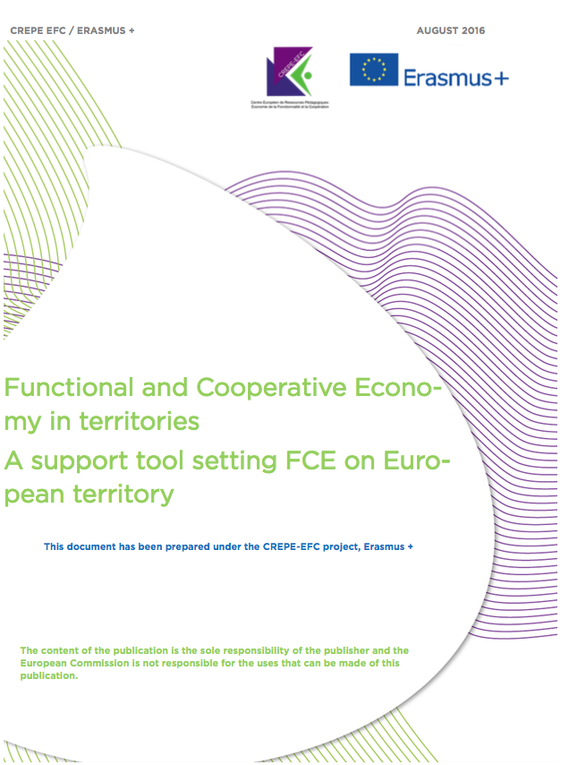 Functional and Cooperative Economy in territories - A support tool setting FCE on European territory