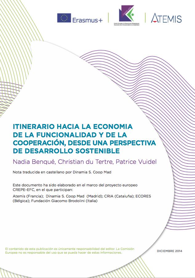 Itinerari cap a l'Economia de la Funcionalitat i la Cooperacio