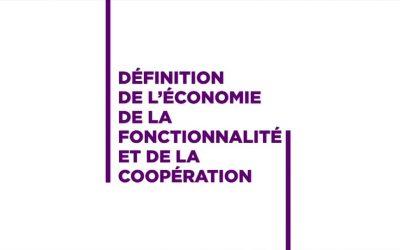 La définition de l'économie de la fonctionnalité et de la coopération