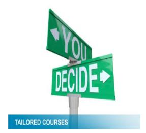 Taliored courses logo
