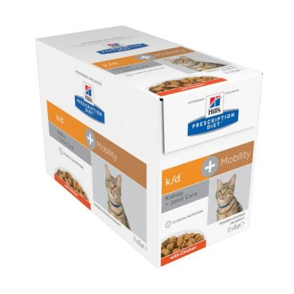 Hill's Prescription Diet k/d + Mobility Multipack