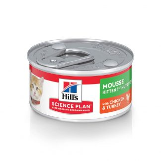 Kitten First nutrition mousse with chicken