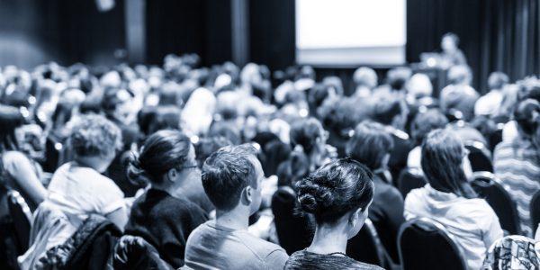 Publikum til foredrag