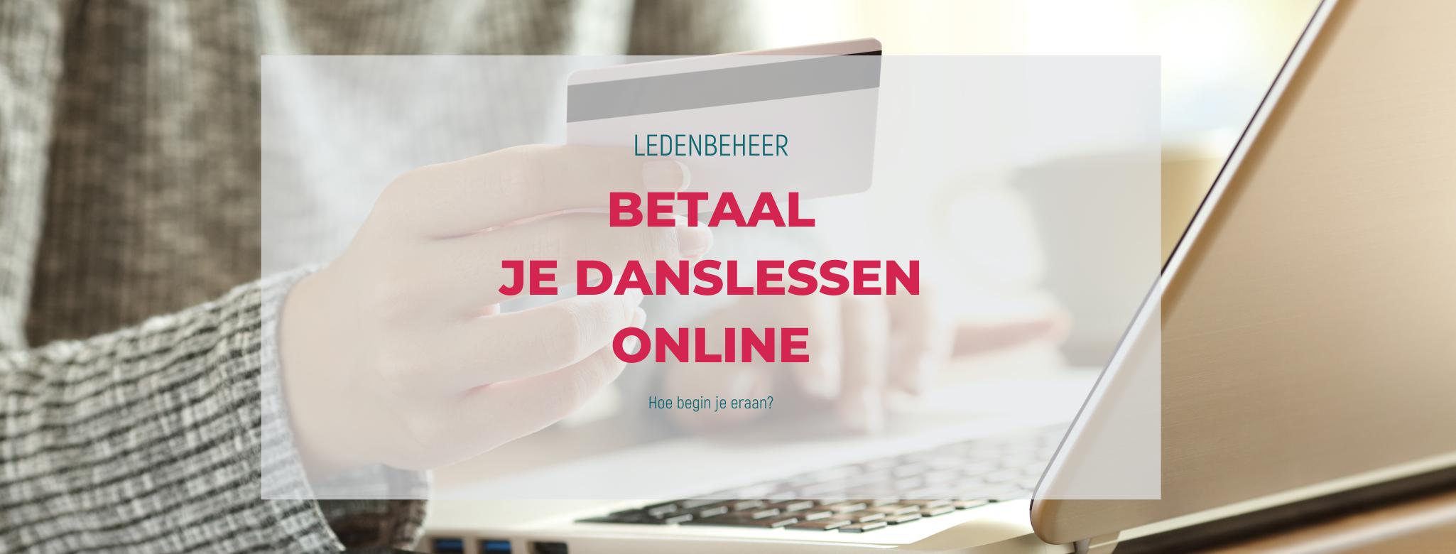 Ledenbeheer: Online betalen