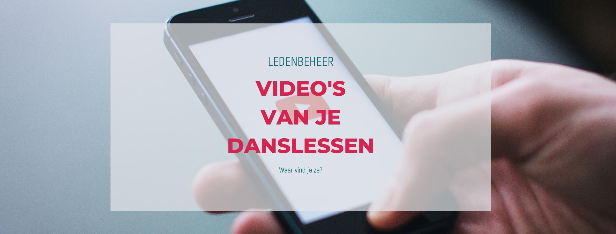 Ledenbeheer: Videozone