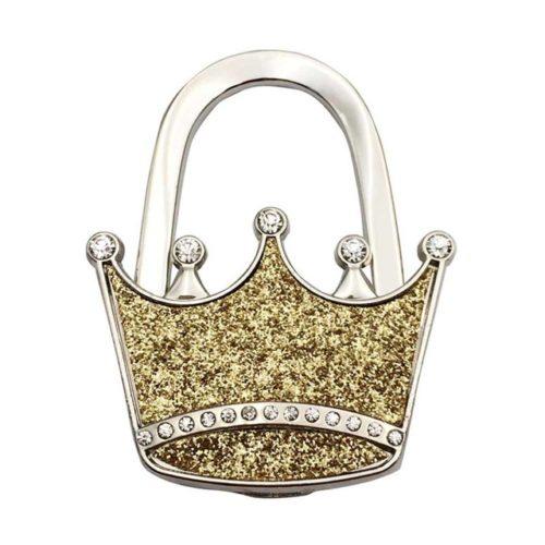 laukkukoukku kruunu kulta