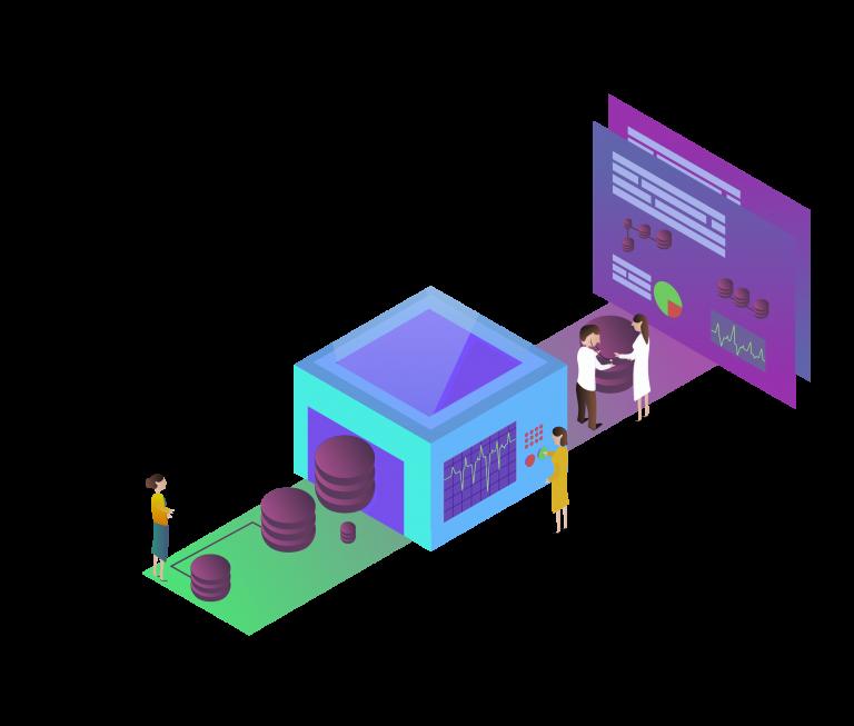 Datamodellering illustration