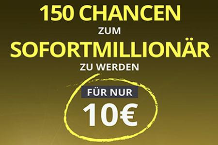 Grand Mondial - 150 Chancen auf einen Gewinn
