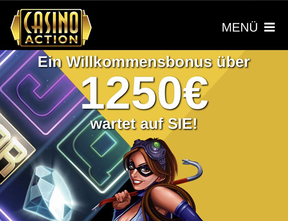 Unsere Empfehlung für Luxemburg: Casino Action