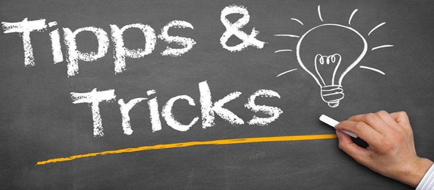 Tipps und Tricks der Gewinner