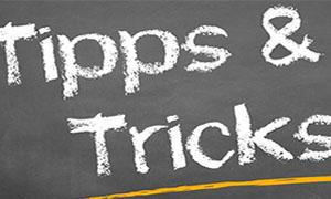 Tipps und Tricks zum Gewinnen