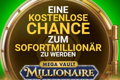 Casino Classic mit 1 Freispiel ohne Einsatz am Mega Vault Millionaire