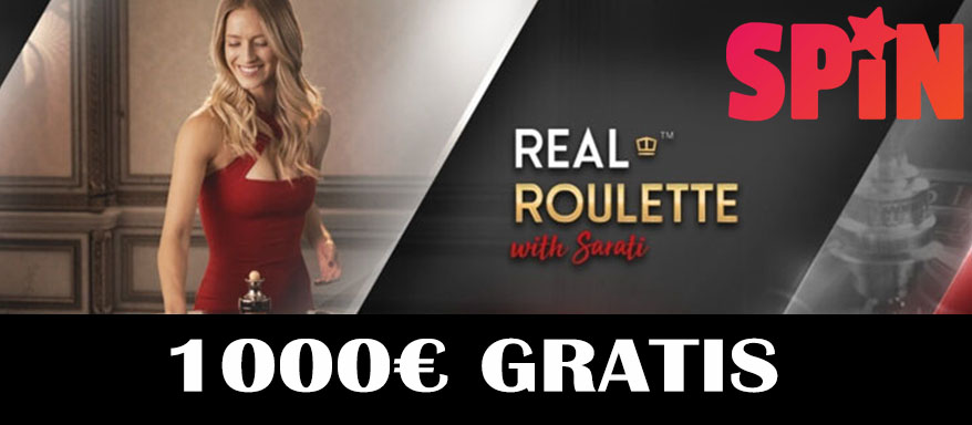 Echtes Online Roulette bei Spin Casino Luxemburg