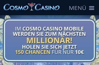 Cosmo Casino - Ein Bonus für Slotmachine Fans