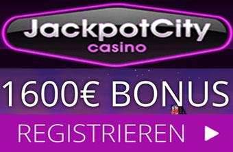 Jackpot City - Kostenloses Guthaben für Roulette und Blackjack