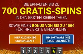 Quatro Casino - 700 Freispiele im Jahr 2021