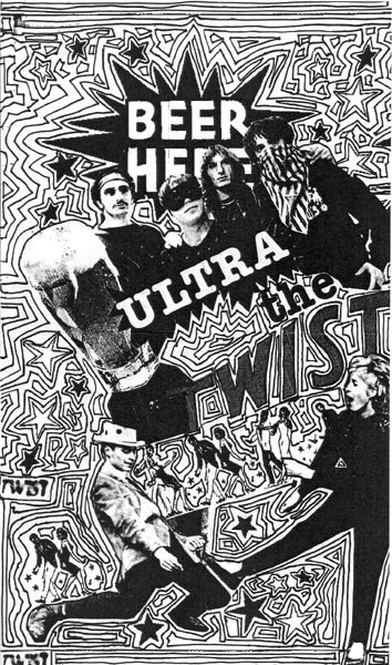 "ULTRA TWIST, The - No Beer No Fun 7"" insert front"