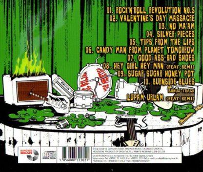 EROTIC BILJAN AND HIS HERETICS - H Is For Heretics CD back cover