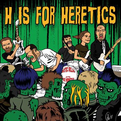 EROTIC BILJAN AND HIS HERETICS - H Is For Heretics CD