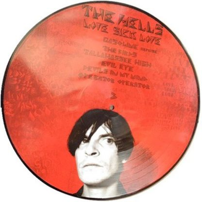 THE HELLS - Love Sick Love LP Picture-Disc Side 2