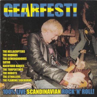 VA: GEARFEST - 100% Live Scandinavian Rock'N'Roll CD