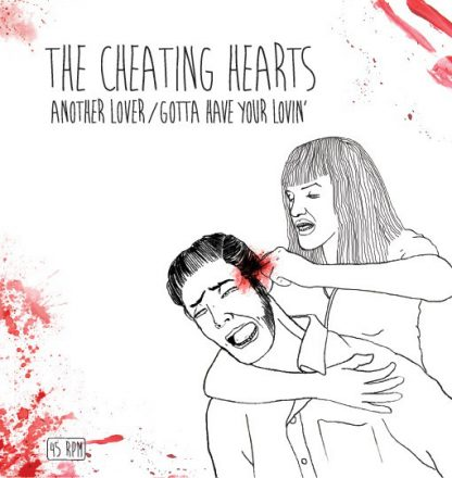 """THE CHEATING HEARTS - Another Lover 7"""""""