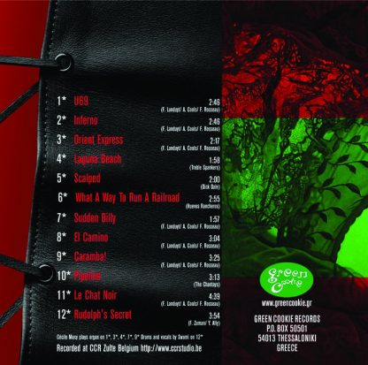 SPEEDBALL JR - For The Broad Mind CD back cover