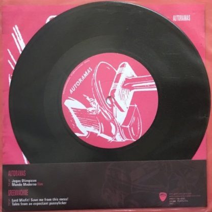 "AUTORAMAS / GREEN MACHINE - Split 7"" back"