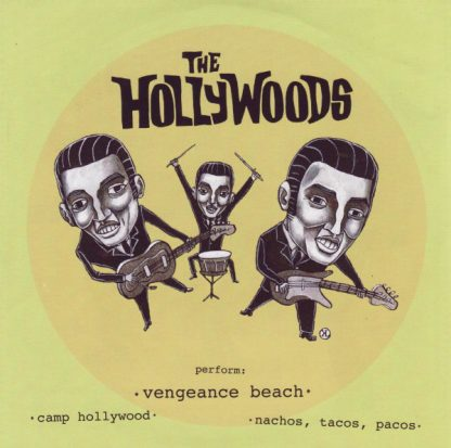 """THE ARCHERS / THE HOLLYWOODS - Split 7"""" back"""
