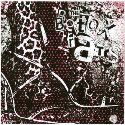 """THE BOTOX RATS - Kick Me Like Trash 7"""" insert"""