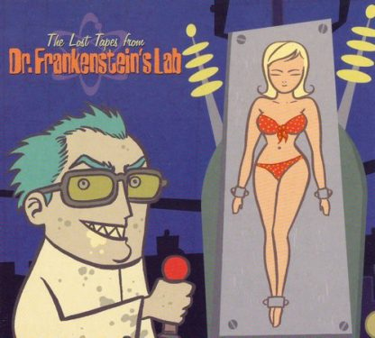 DR. FRANKENSTEIN - The Lost Tapes From Dr. Frankenstein's Lab CD