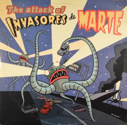 INVASORES DE MARTE - The Attack Of... CD/LP