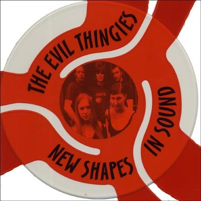 "THE EVIL THINGIES - New Shapes In Sound 10"" (white vinyl)"