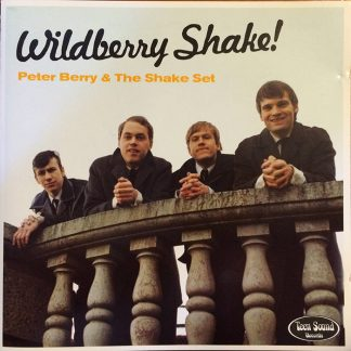 PETER BERRY & THE SHAKER SET - Wildberry Shake! LP