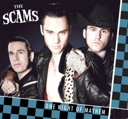 THE SCAMS - One Night Of Mayhem CD