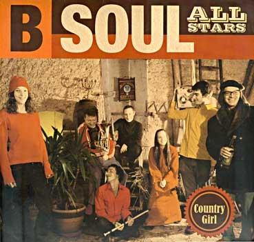 B-SOUL ALL STARS - Country Girl LP
