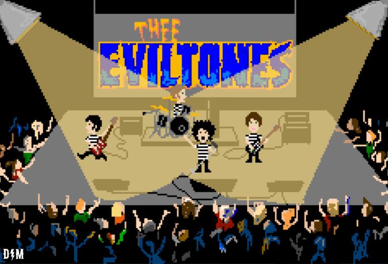 Thee Eviltones in 8bit Spectrum