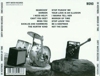 DE KEEFMEN - Mirror Of Time CD back cover