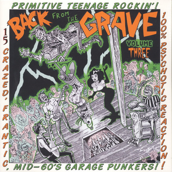 VA: BACK FROM THE GRAVE Vol. 3 LP