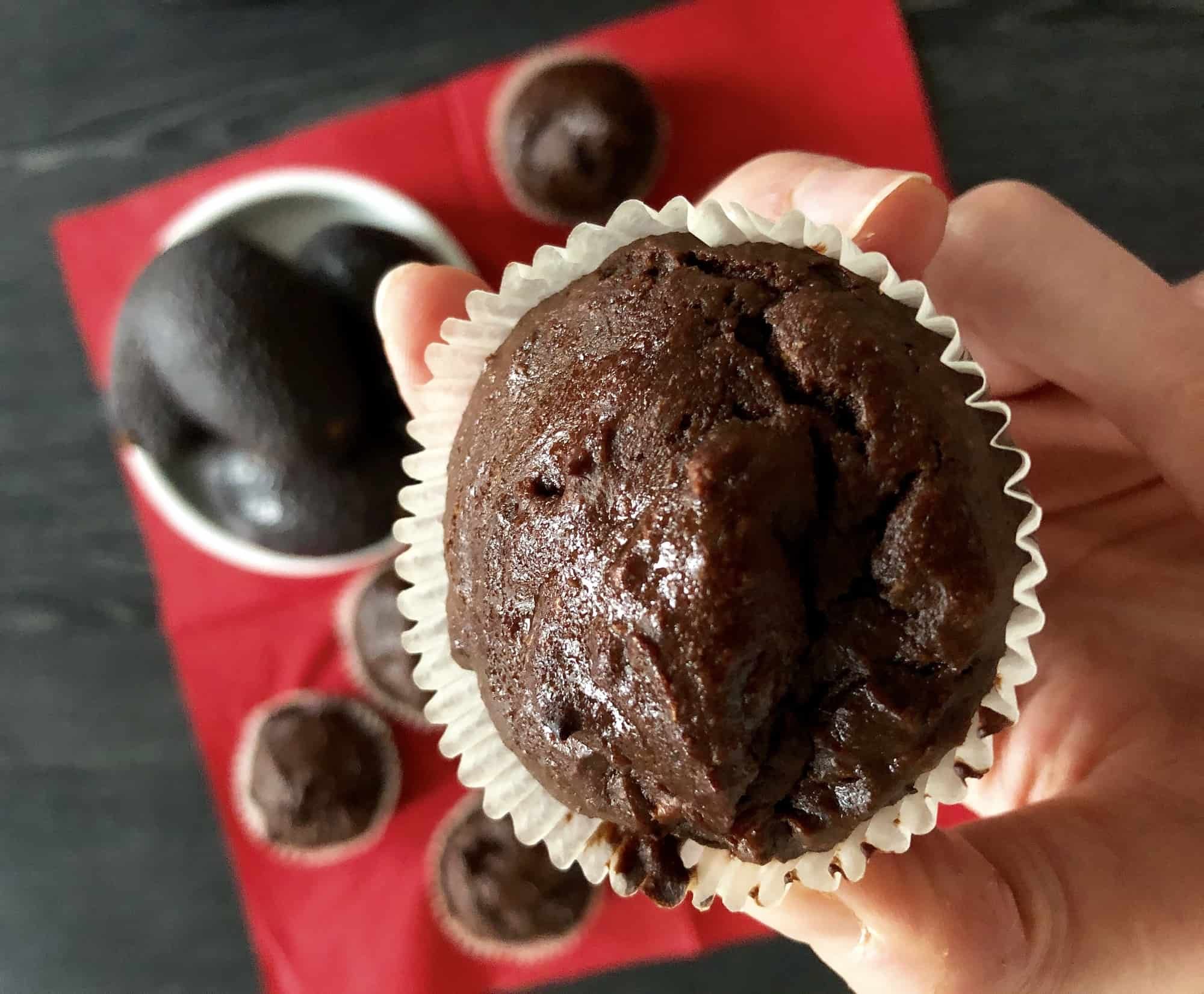 Chocolade Cupakes van Avocado