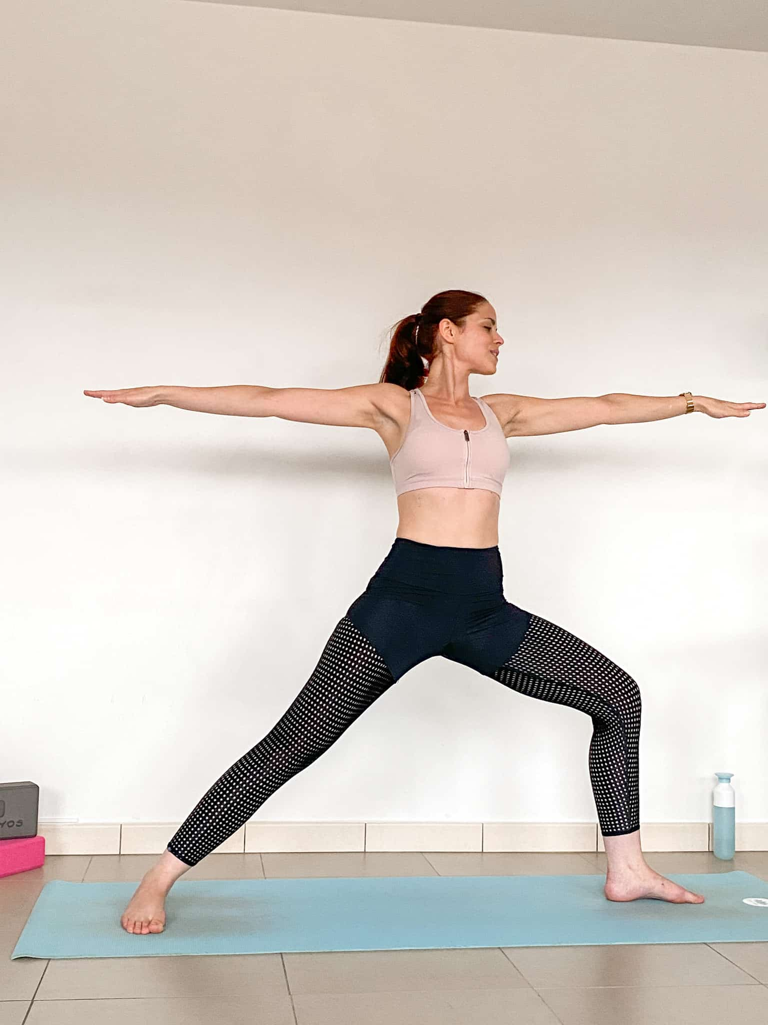 Yoga for Think Pink - Warrior II