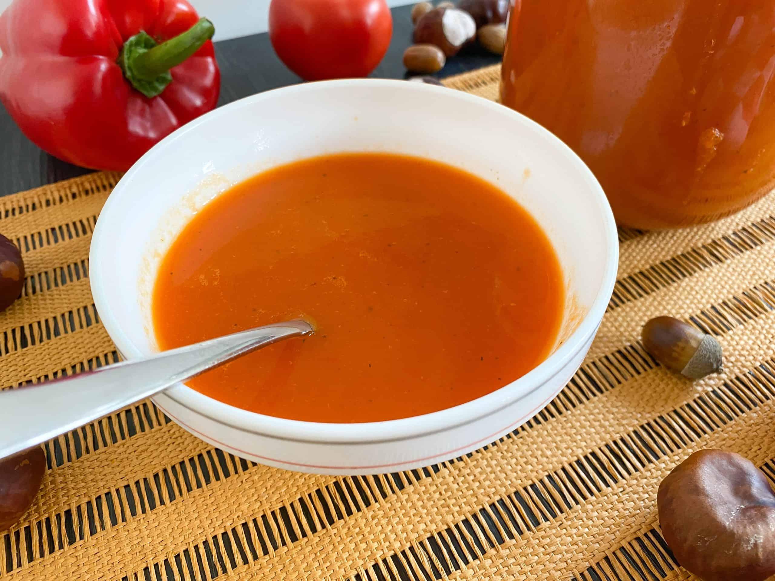 Tomato Bell Pepper Soup