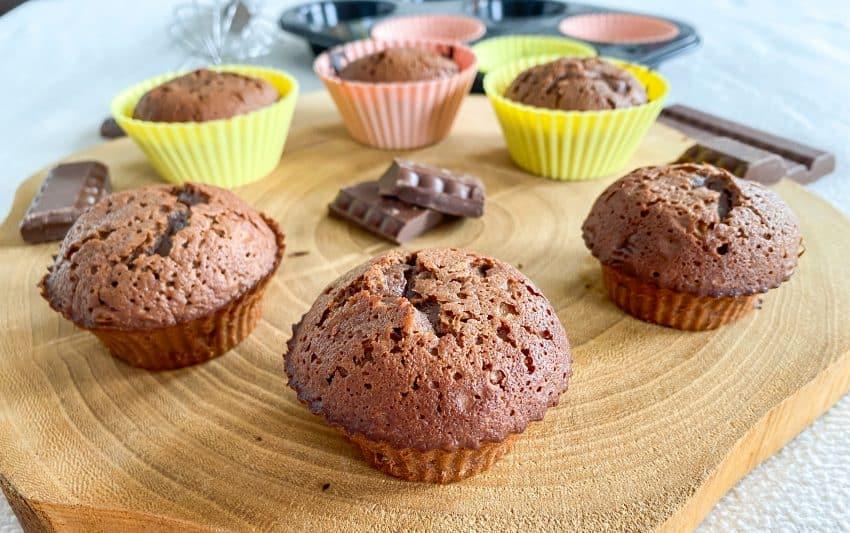 Chocolade Muffins voor chocoladeliefhebbers