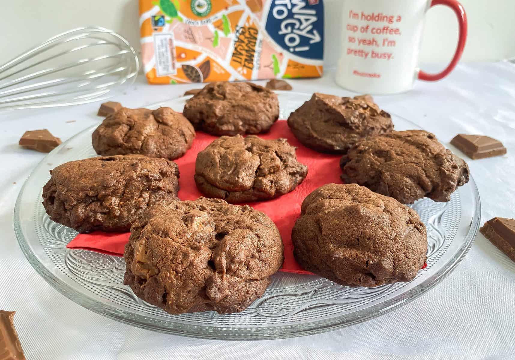 Rocky Chocolate Chunk Cookies