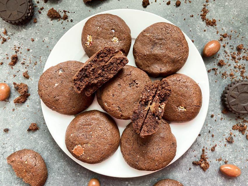 Veraasende chocolade koekjes