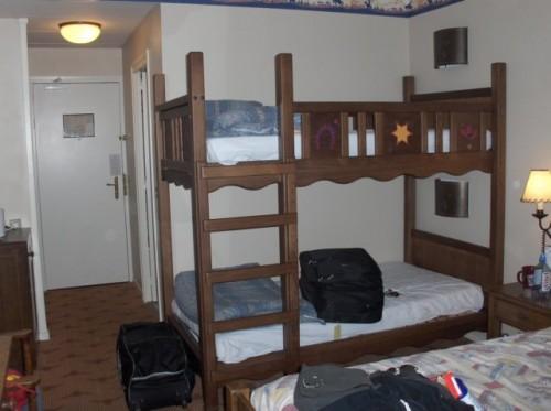 Hotel Cheyenne - bunk beds