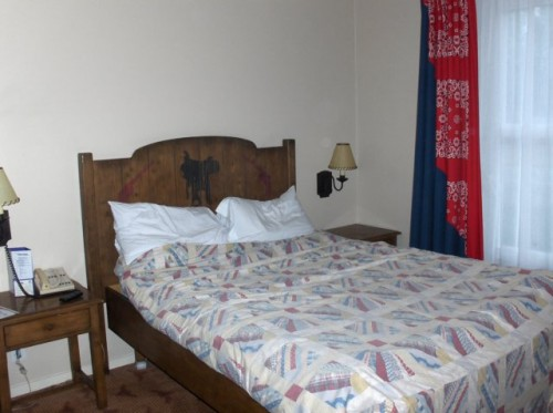 Hotel Cheyenne - the main double bed