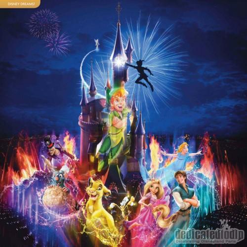 2011 Brochure Advertising Dreams! in Disneyland Paris